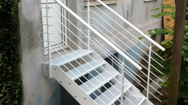 Metalltreppen / Stahltreppen